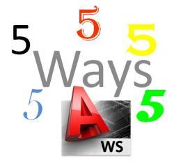 Ways - AutoCAD WS - Blog - The Autodesk AutoCAD WS Blog